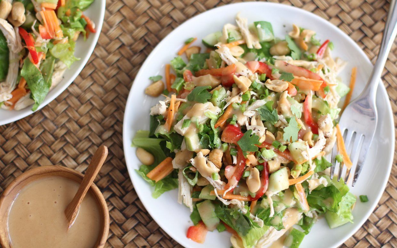 salad ayam