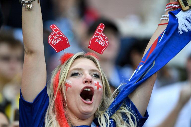 Fans Timnas Inggris (Foto: AFP)