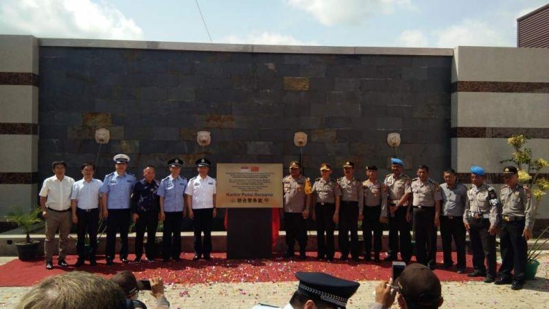 Plang Kantor Polisi Bersama di Ketapang (foto: Ist)
