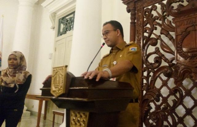 Gubernur DKI Anies Baswedan