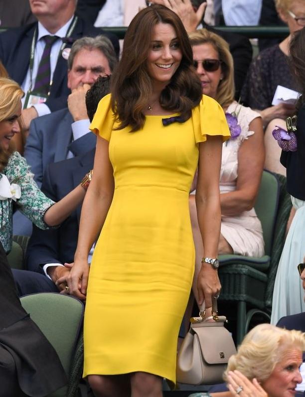 Dress kuning Kate Middleton