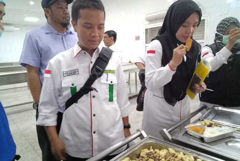 Katering jamaah haji Indonesia.