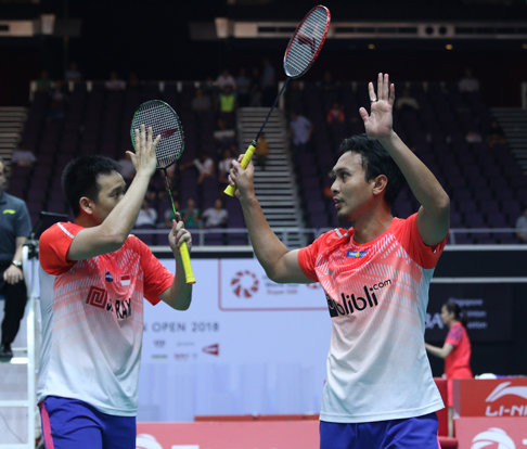Mohammad Ahsan/Hendra Setiawan. Foto: Laman resmi PBSI