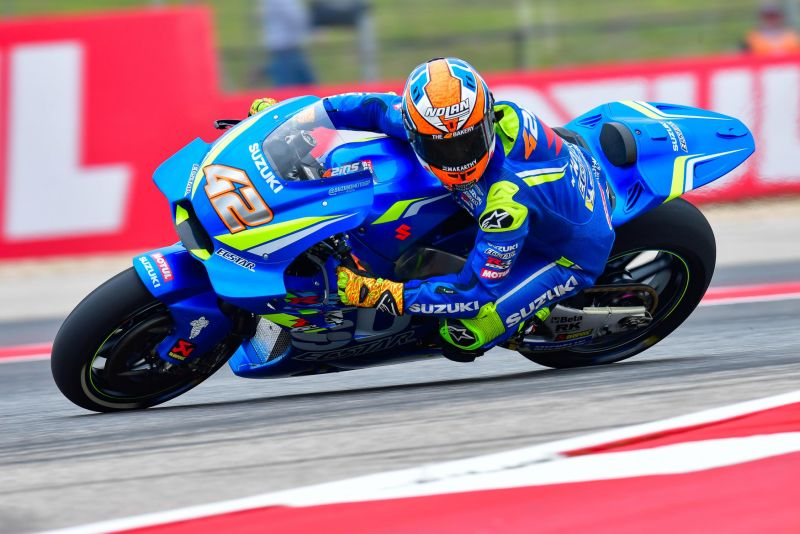 Alex Rins. (Foto: Laman resmi MotoGP)