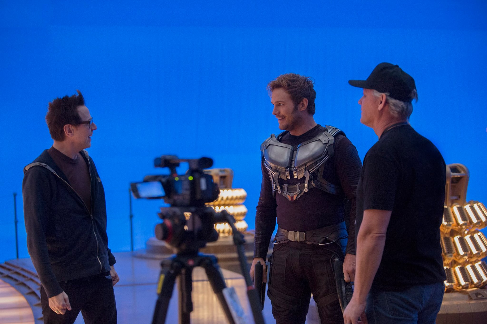 James Gunn dan Chris Pratt