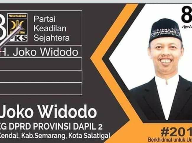 Joko Widodo Alias Jokowi Maju sebagai Bacaleg dari PKS (foto: Ist)