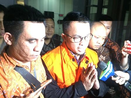 Anggota DPRD Lampung Selatan Agus Bhakti Nugraha. (Foto: Harits Tryan Akhmad/Okezone)