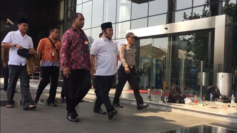 Bupati Lampung Selatan Zainudin Hasan. (Foto: Arie Dwi Satrio/Okezone)