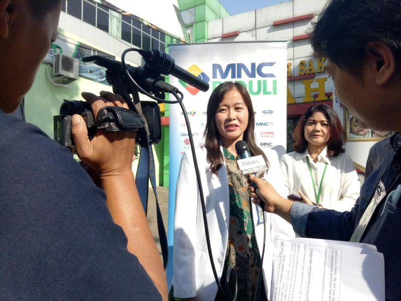 MNC Peduli Gandeng RS Rama Hadi Purwakarta Melakukan Operasi Gratis Bibir Sumbing (foto: Mulyana/Okezone)
