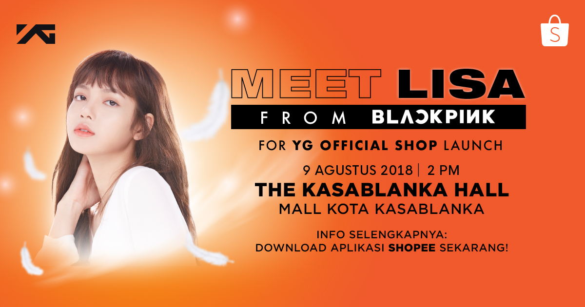 Meet & Greet Lisa 'BLACKPINK'