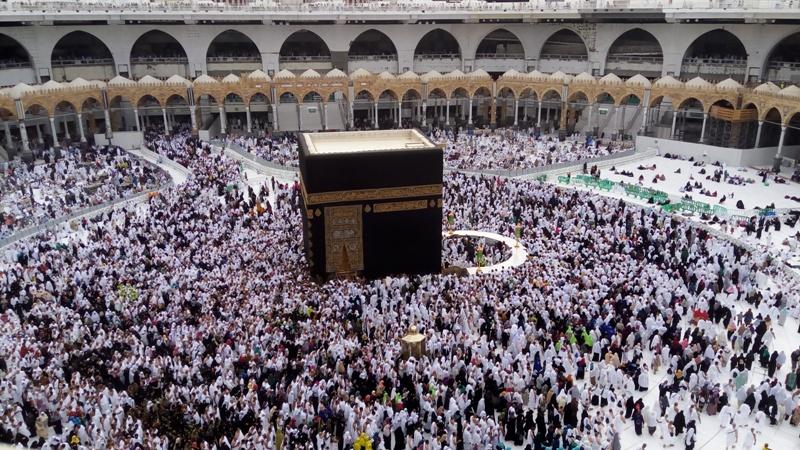 Masjidil Haram. (Foto: Salman Mardira/Okezone)