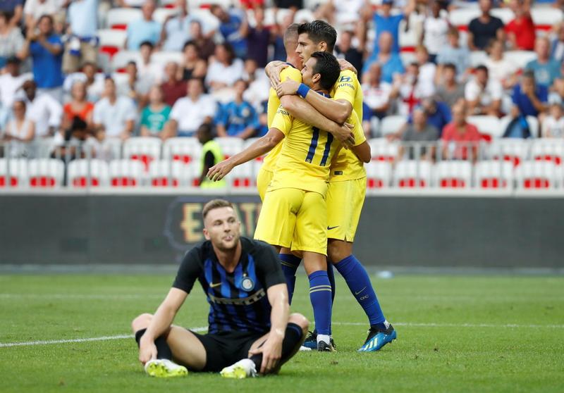 Chelsea vs Inter Milan (Foto: Reuters)