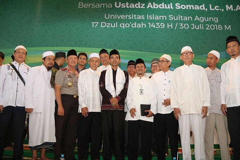 Ustadz Abdul Somad (Foto: Taufik Budi/iNews)