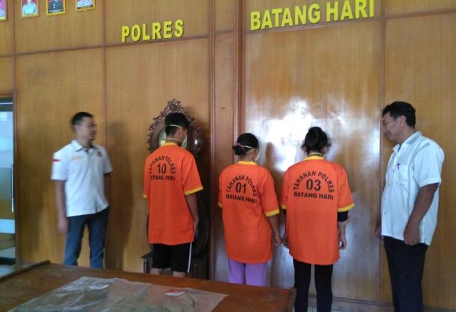 Kasus Hubungan Inses Berujung Aborsi di Kabupaten Batanghari, Jambi (foto: Azhari/Okezone)