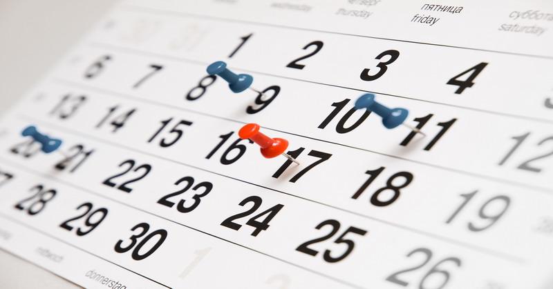 Ilustrasi tanggal atau kalender. (Foto: Ist)