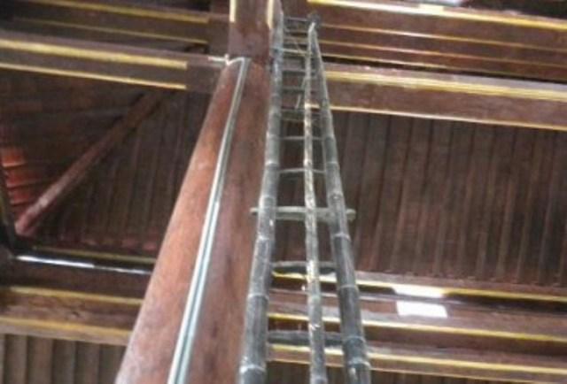 Ilustrasi tangga. (Foto: Ist)