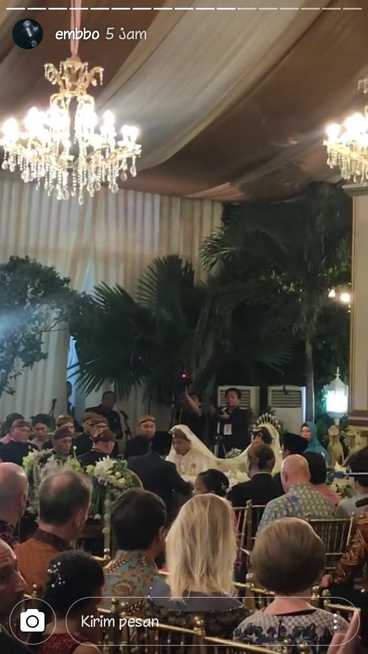 Pernikahan Panji Trihatmodjo dan kekasihnya