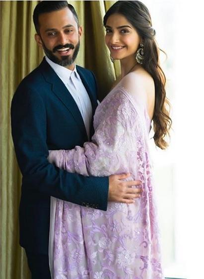 Sonam Kapoor dan suami