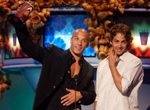 Paul Walker dan Vin Diesel