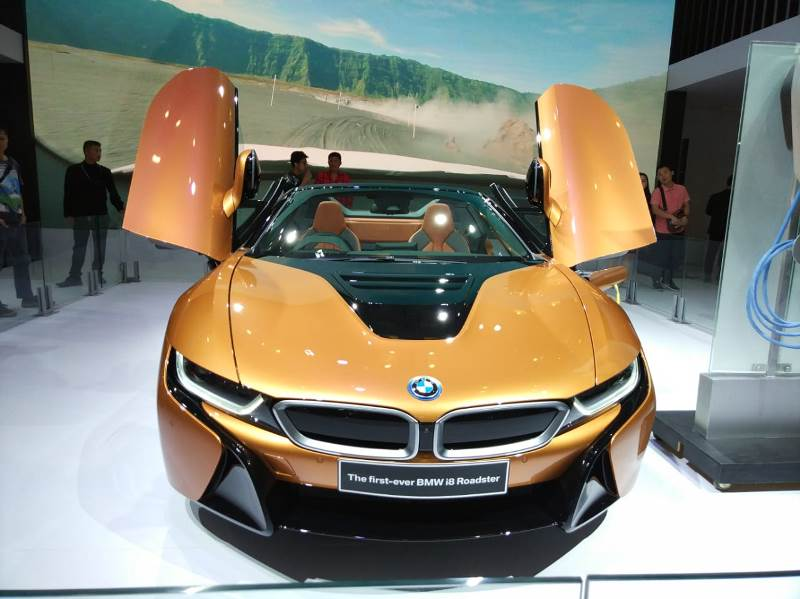 Bmw I8 Roadster 2018 Harga Giias 2018 Dijual Rp 4 Miliar Ini