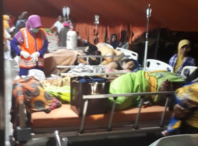 Korban Gempa Lombok
