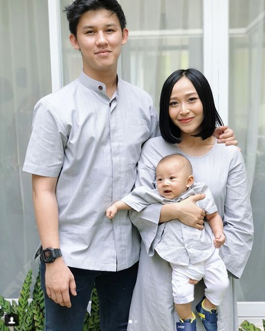 Jevin Julian, Rinni, dan baby Nord