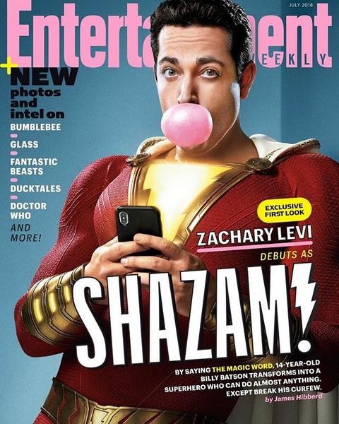 Zhacary Levi sebagai Shazam