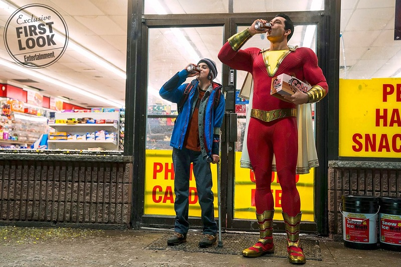 Film Shazam, Foto: Entertainment Weekly