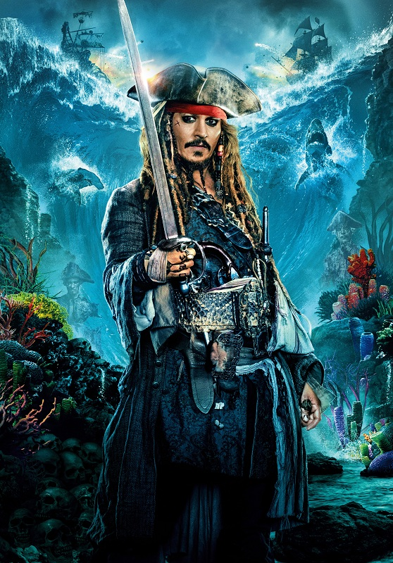 Johnny Depp sebagai Jack Sparrow