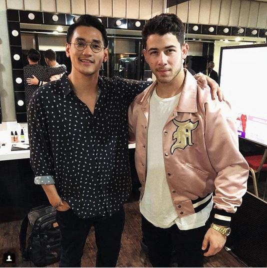 Afgan dan Nick Jonas