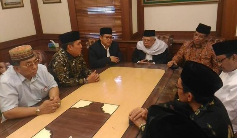 Pertemuan elite PBNU di kantor PBNU, Jakpus. (Foto: Fahreza Rizky/Okezone)
