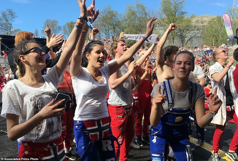 Orang Norwegia (Daily Mail)