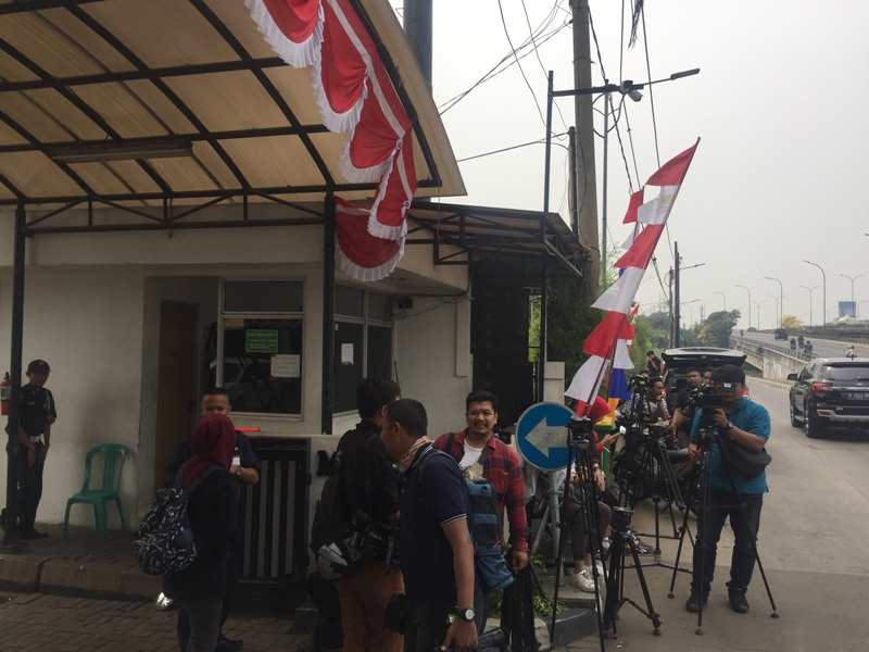 Kantor DPP PKS (Foto: Harits Tryan Akhmad/Okezone)