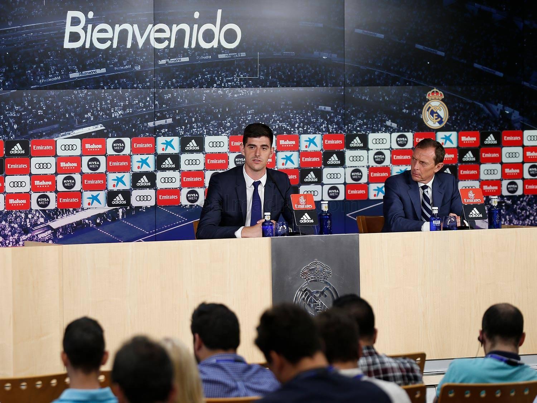 Thibaut Courtois (Foto: Laman Resmi Real Madrid)
