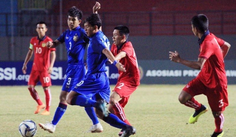 Timnas Thailand U-16 (Foto: Twitter Resmi AFF)