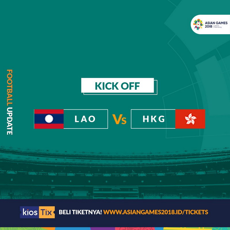 Laos vs Hong Kong (Twitter Asian Games 2018)