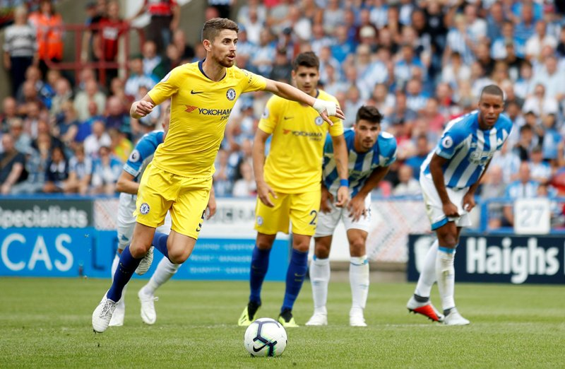 Chelsea vs Huddersfield (Foto: Reuters)