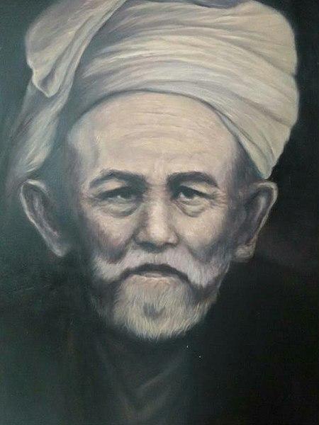 Syekh Nawawi Al-Bantani (Lukisan Kang Alam/Wikipedia)