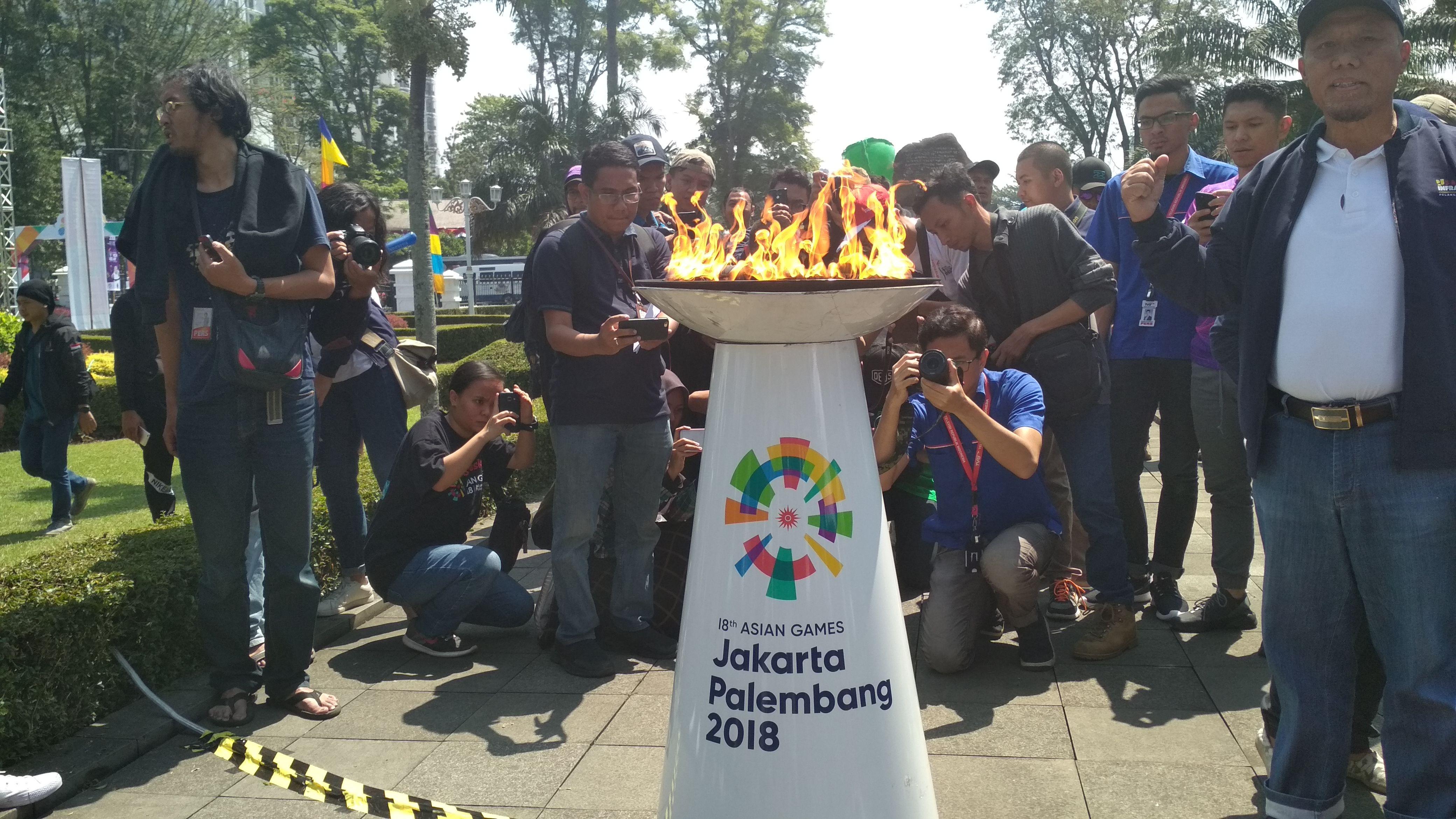 Obor Asian Games di Bandung