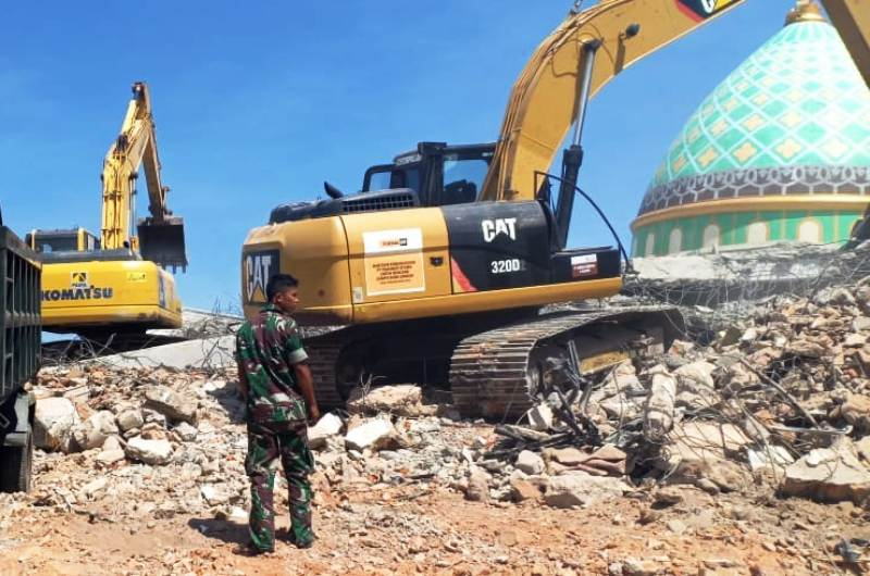 Gempa Lombok. (Foto: BNPB)