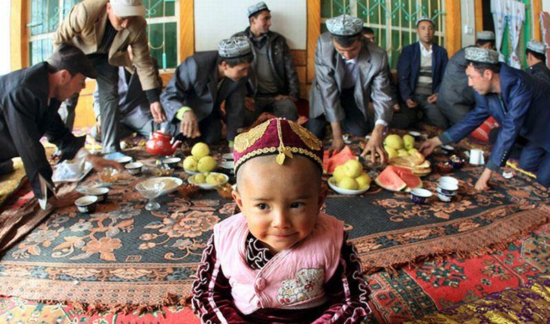Muslim Uighur di China (ilustrasi China Discovery)