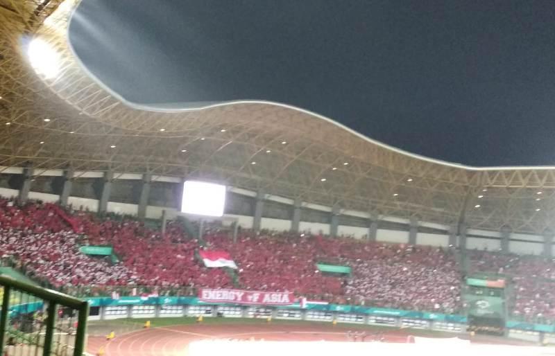 Koreografi suporter Timnas Indonesia U-23