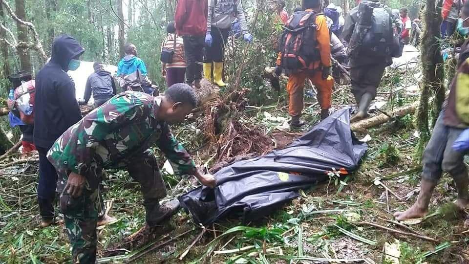 Pesawat Jatuh di Papua