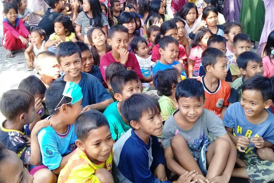 Korban gempa Lombok. (Foto: BNPB)