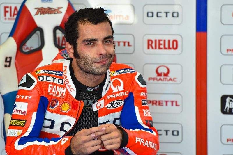 Danilo Petrucci. Foto: Laman resmi MotoGP