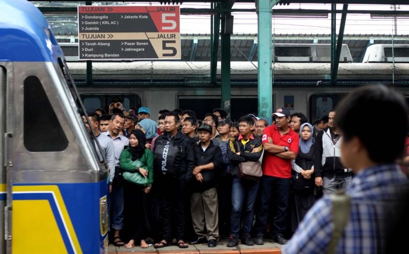 Ilustrasi Stasiun Manggarai. (Foto: Okezone)