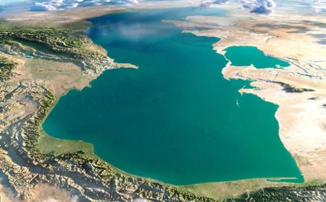 Laut Kaspia. (Foto: Ist)