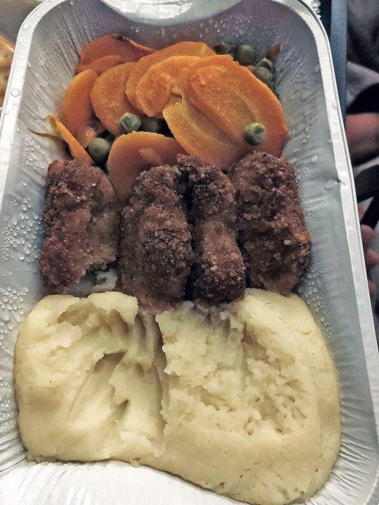 Makanan British Airways (Metro)