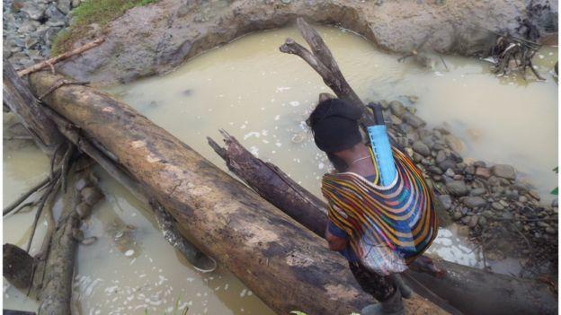 Sita Puluhan Emas Batangan Polisi Tangkap 3 Penambang Ilegal Di