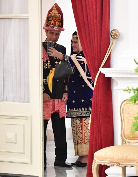 Jokowi dan Iriana (IG)